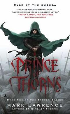 High/Epic Fantasy Book - The Prince of Thorns