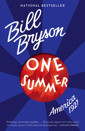 ONE SUMMER by Bill Bryson is a Narrative Nonfiction Landmark Title on Book Country.