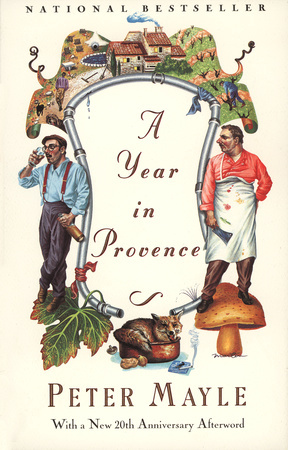 A YEAR IN PROVENCE by Peter Mayle is a Travel Landmark Title on Book Country.